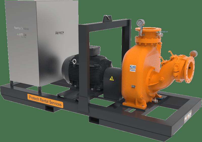 Unidad de bombeo para aguas residuales