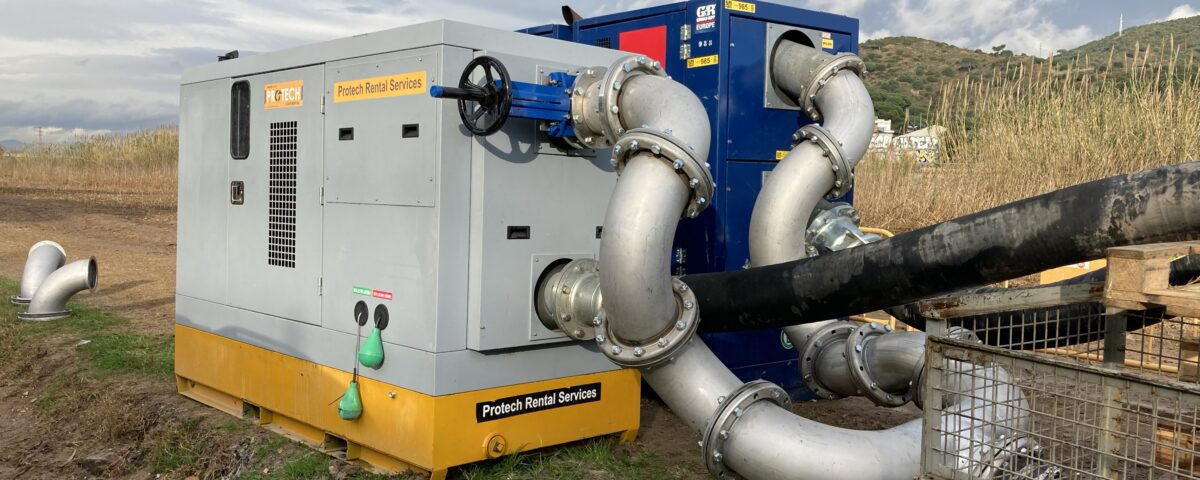 Motobomba Diesel para bypass